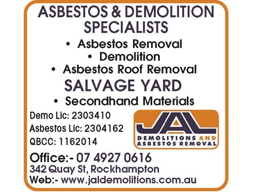 Asbestos Removal  Demolition  Asbestos Roof Removal  SALVAGE YARD  Second...