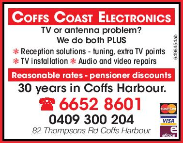 TV or antenna problem?   We do both PLUS   Reception solutions - tuning, extra TV points...