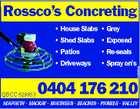Rossco's Concreting