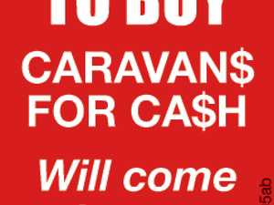 Caravans Wanted to buy