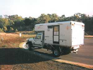 SLIDE-ON camper to fit tray
