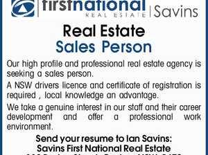 Real Estate Sales Person