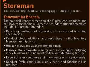 Storeman - Toowoomba