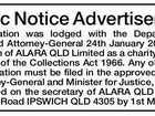 Public Notice Advertisement