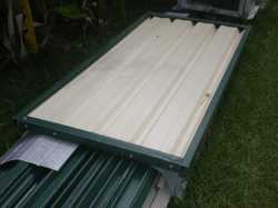 1xGate & Fittings, 11 posts,13 rails, 12 panels, retail 800.00 sell for 400.00 ono