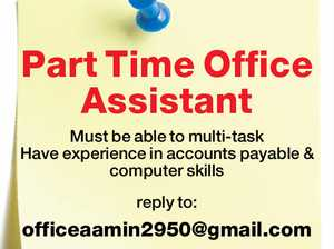 Part Time Office Assistant