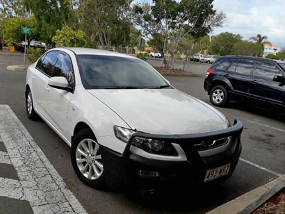 FORD FALCON 2013, auto, excellent condition, 99,000 klms  cruise control, A/C, reg, $11,999....
