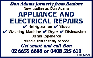 Don Adams formerly from Beatons 