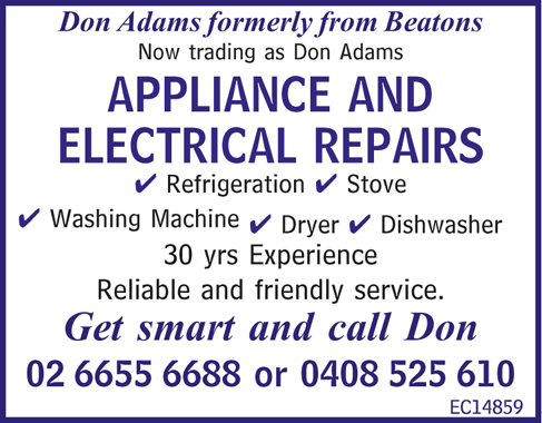 Don Adams formerly from Beatons Now trading as 