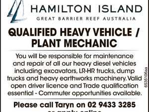 Qualified Heavy Vehicle / Plant Mechanic