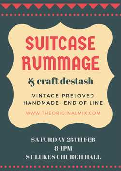 An opportunity to Sell your antiques, vintage, retro and preloved items at a new Suitcase Rummage on...