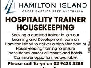 Hospitality Trainer - Housekeeping