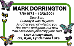 MARK DORRINGTON