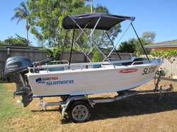 Quintrex Dory WB 2006 Yamaha 40 4 stroke low hours plenty of extras Call after 4pm