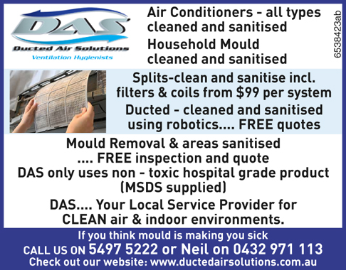 Airconditioners - all types cleaned and sanitised