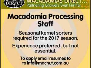 Macadamia Operating Staff