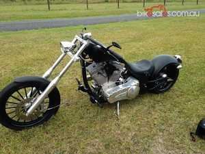 2010 Harley Big Bear Chopper - Bear Bones