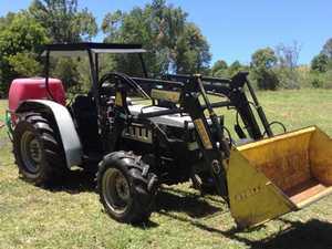 70hp Lamborghini 4x4 Tractor