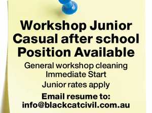 Workshop Junior Casual after school Position