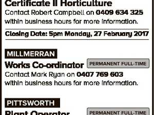 JOBS AT council Toowoomba Regional Council administers a diverse range of community services to a region rich in resources and opportunities. Sympathetic to the work life balance, Council offers stable and expanding employment options to its approximately 1800 employees. TOOWOOMBA PERMANENT FULL-TIME Senior Building Surveyor - Compliance Contact Ross Ford on ...