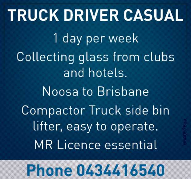 Truck Driver Casual