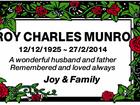 Roy Charles Munro