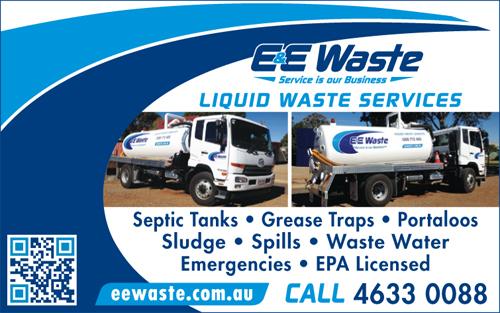 LIQUID WASTE SERVICES Septic Tanks • Grease Traps • Portaloos Sludge • Spills...