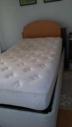 King single adjustable bed