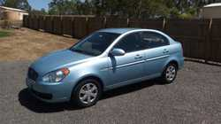 06 Hyundai Accent 4-spd auto. 175k. Full logbooks, rego until July, current RWC. Cheap to run, great...