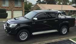 2012 Toyota Hilux SR 5, 36,000ks emmac, TJM susp, nudge & tow bar, rev camera, elect brakes,...