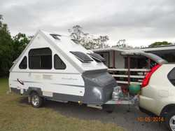 Great Easy Tow Tourer Year 2010 in very good condition. Large front boot model with full annexe outs...