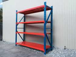 Heavy Duty Garage / Warehouse Storage Racks for the home handyman or the commercial business for sto...