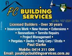 6100502aa Lic No. 107 0331 Licensed Builders - Over 30 years * Insurance Work * New Homes * Extensio...