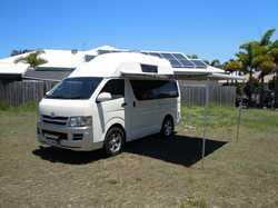TOYOTA Hi-Ace '09 Campervan 5sp man, LED TV, m/w frig, solar, Flamma awning rear camera, 14...