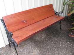 garden seat vintage ends  6ft long