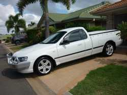 Falcon BA Mark 2 Auto Supercab. Aircon. Hard lid XR6 Mag wheels. Log books and Owners Manual. Reg to...