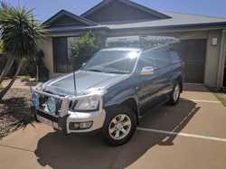 2004 Toyota Prado Grande petrol. Bullbar, towbar, roof racks,awning plus much more. VGC with RWC. Re...