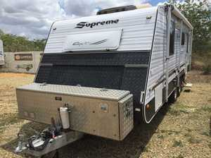 Forward Fold Reverse Cycle Air Con Camper