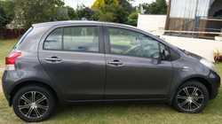 55000 klms near new tyres 4 door hatch mag wheels dark grey in colour dash and floor mats.only selli...