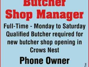 Butcher / Shop Manager