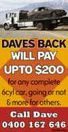 Daves Back