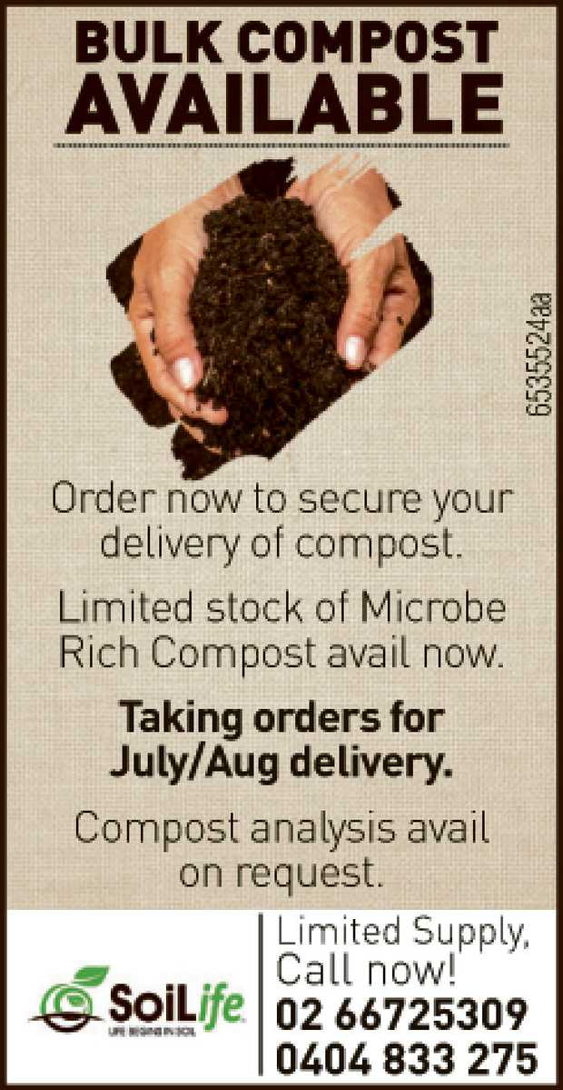 Bulk Compost Available