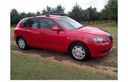 2005 Mazda 3 Hatch    5sp man,  a/c, CD,  new tyres,  log books,  rack...