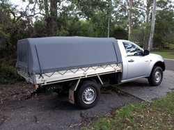 Dec 08 Triton GLX. Auto, 2WD, Air con, 2.5l diesel, NJ Canvas Canopy, 126,030 km's, Reg Nov 17,  Ser...