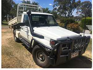 Toyota Landcruiser Workmate Tipper