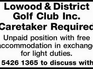 Lowood & District Golf Club Inc.
