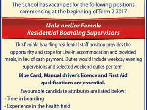 Residential Boarding Supervisors