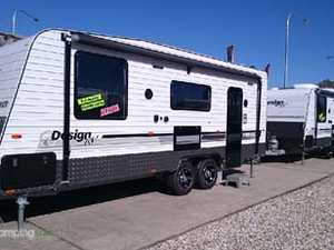 Caravan City Sales Introducing New Design RV