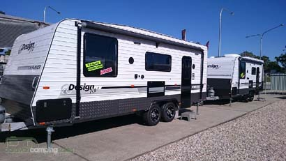 Caravan City Sales Introducing New Design RV Caravan 