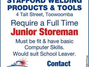 Junior Storeman